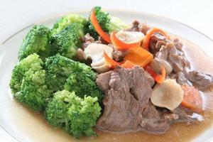 brócolis de carne foto