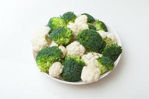 brócolis e couve-flor foto