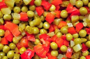 salada de ervilhas foto