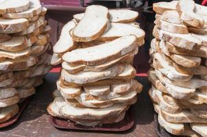 Migalhas de pão foto