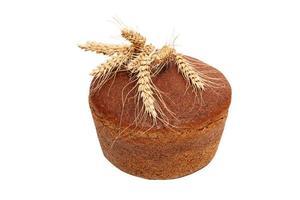 pão isolado foto