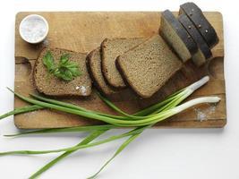 pão de centeio foto