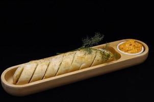 pão de alho foto