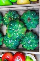 abóboras verdes foto