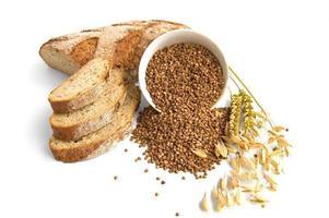 pão de trigo sarraceno foto