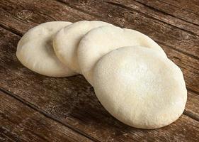pão árabe foto