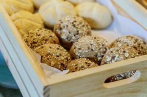 pão cesta foto