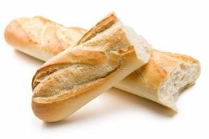 baguetes francesas foto