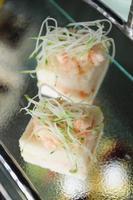 sanduíches de camarão foto
