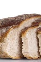saboroso pão fresco pão baguete alimentos naturais foto
