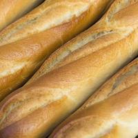 pães franceses close-up