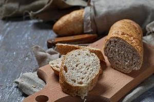 pão rue com farelo foto