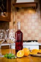 garrafas de vinho foto