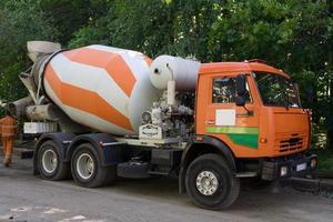misturador de concreto foto
