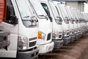 novos camiões foto
