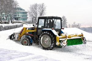 limpeza de neve snowplows