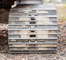 grandes rodas de aço foto
