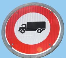 Proibido Caminhões foto
