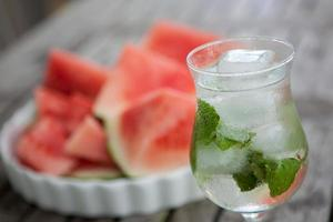mojito com melancia foto