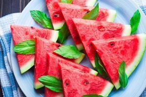 fatias de melancia