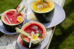 bebida de melancia