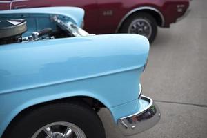 Exposição de automóveis foto