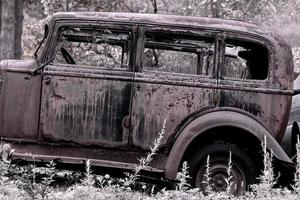 clássico ford carro cedo