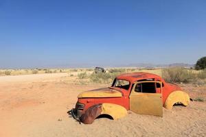 schrottautos na namíbia foto