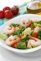 salada de camarão italiano foto