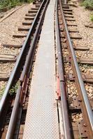 trilhos de trem foto