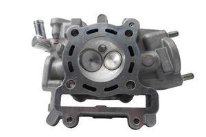 câmara da válvula do motor ou chame a cabeça do motor foto