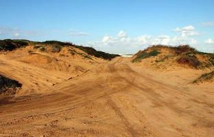 pista de motocross e autosport foto