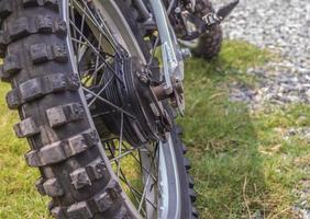 rodas motocross foto