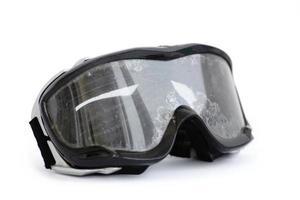óculos de motocicleta off-road foto