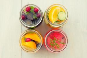 água de desintoxicação saudável