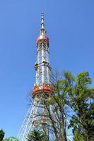 torre de telecomunicações de kiev. Ucrânia. foto