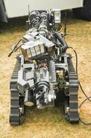 robô de descarte de bombas foto
