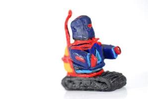 robô de brinquedo foto