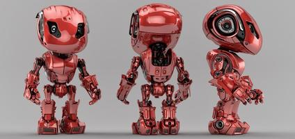 robô inteligente foto
