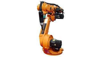 braço robótico industrial foto
