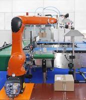 robô articulado foto
