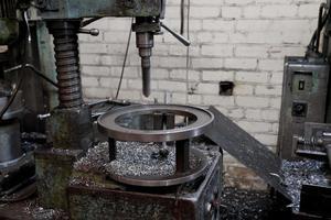 broca de metal foto