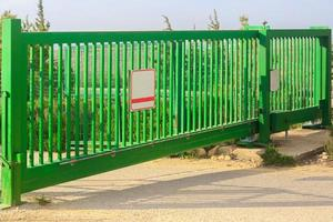 portões verdes foto