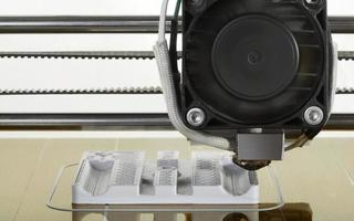 protótipo de impressão 3d foto