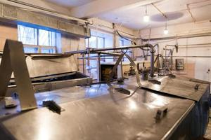 indústria de processamento de alimentos