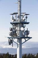torre de telecomunicações, áustria foto