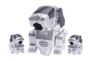cães robô de brinquedo foto