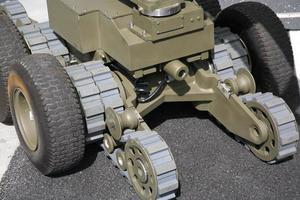 robô bomba foto