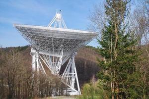 rádio telescópio effelsberg foto