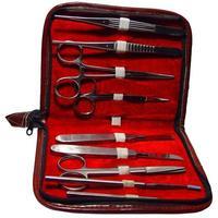 médico / ciência: kit de dissecção. foto